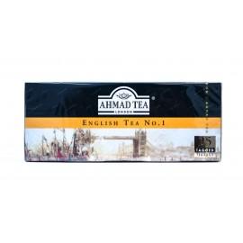 Чай черный  АХМАД Английский чай №1 25 пакетов