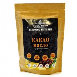 Какао масло нерафинированное Продукты XXII века 200г