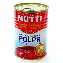 Томаты резанные кубиками в томатном соке Mutti 400г