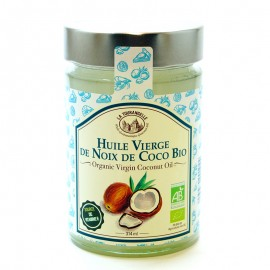 Масло кокосовое нерафинированное La Tourangelle Organic Virgin Coconut Oil 314мл
