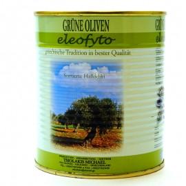 Оливки зеленые с/к Eleofyto 850мл.