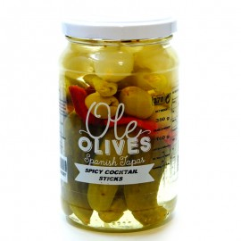 Коктейль овощной Ole Olives Spicy Cocktail Sticks 370г