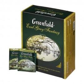 Чай Черный Гринфилд Erl Gray 100 пакетов