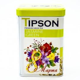 Зеленый листовой чай Tipson Jasmine Green, 85г