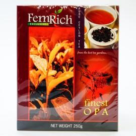 Черный чай FemRich Finest OPA, 250г
