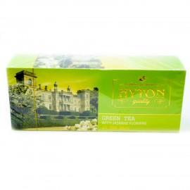 Зеленый чай Hyton с жасмином, 25 пакетиков