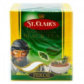 Чай черный St.Clairs Пеко, 100г