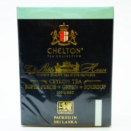 Черный и зеленый чай Chelton с кусочками саусепа, 200г