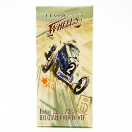 Шоколад Classic Wheels экстра черный 72%, 100г