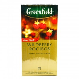 Травяной чай Greenfield Wildberry Rooibos, 25 пакетиков