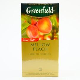Зеленый чай Greenfield Peach Mellow, 25 пакетиков