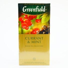 Чай черный Greenfield Currant & Mint, 25 пакетиков