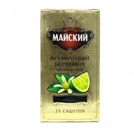 Чай Майский Золотой.Ароматный Бергамот 25 пакетов