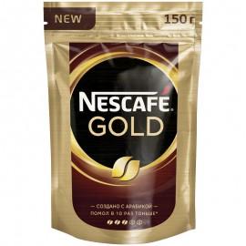Кофе Нескафе Голд 150 гр. Растворимый Сублимированный Пакет