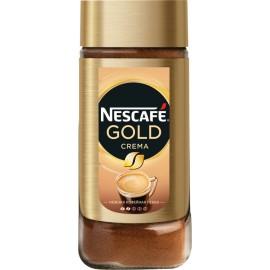 Кофе НЕСКАФЕ Голд Крема натуральный порошкообразный 95г