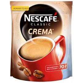 Кофе Нескафе Классик Крема 70гр. растворимый