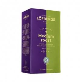 Кофе молотый Lofbergs Medium Roast (крепость-2) 500гр.