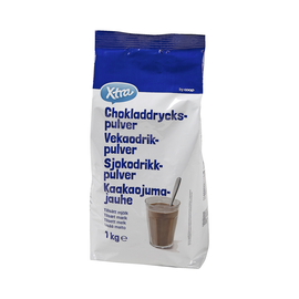 Какао-порошок X-tra  1кг. (Финляндия)