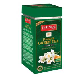 Impra зелёный чай с жасмином 200гр. Ж/Б