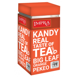 Impra KANDY чёрный чай 200гр. Ж/Б