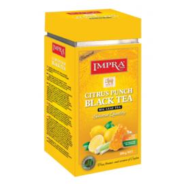 Impra чёрный чай Citrus Punch 200гр. Ж/Б