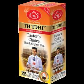 Чай черный  Ти Тэнг Taster's Choice 25 пакетов
