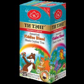 Чай черный  Ти Тэнг Для Детей Ассорти 25 пакетов
