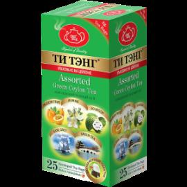Чай зелёный  Ти Тэнг Фруктовое Ассорти 25 пакетов