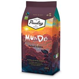 Кофе в зёрнах Paulig Mundo Reilusti Tumma 450гр. (Финляндия)