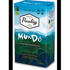 Кофе молотый Paulig Mundo 500гр. (крепость-3). Финляндия