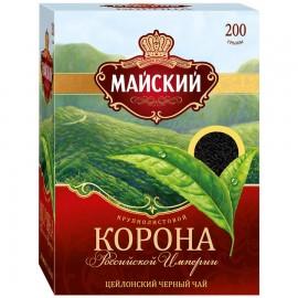 Чай черный Майский Корона 200гр.
