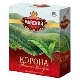 Чай черный Майский Корона 100 пакетов