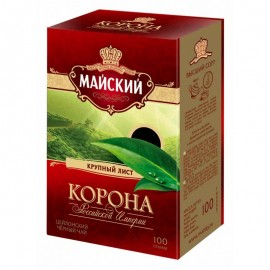 Чай черный Майский Корона 100гр.