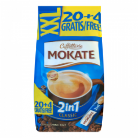Кофе раствимый 2в1 MOKATE , 24 шт. (Польша)