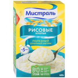 Хлопья  рисовые МИСТРАЛЬ 400гр.  Горячий завтрак.