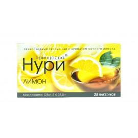Чай Принцесса Нури Лимон 25 пакетов