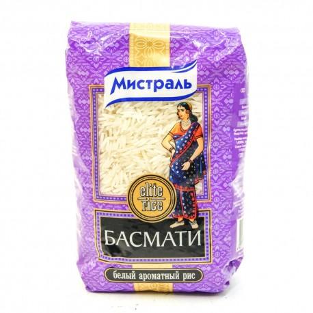 Рис Мистраль Басматти, белый ароматный  500гр.-12 (шт.)