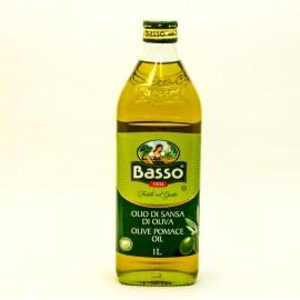 Масло оливковое Бассо рафинированное 1л-12 (шт.)   СТ.