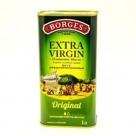 Масло оливковое Боргес нерафинированное 1литр-12 (шт.)  Ж/Б