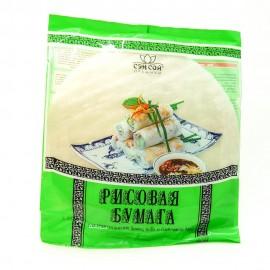 Рисовая бумага СЕН-СОЙ для приготовления Spring Rolls и блинчиков Nem. 100гр-20 (шт.)