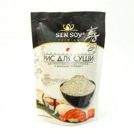 Рис для суши СЭН СОЙ для приготовления суши и роллов. 250гр.