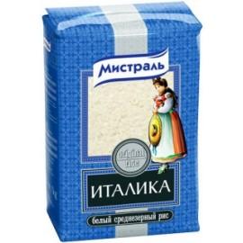Рис Италика белый среднезёрный МИСТРАЛЬ 1кг.