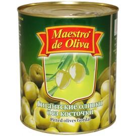 Оливки Маэстро гигантские без кости 420гр-24 (шт.)