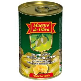Оливки Маэстро с сыром 300гр-12 (шт.)