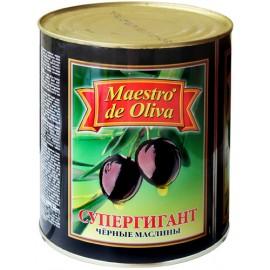 Маслины Маэстро супергигант с косточкой 3кг-6 (шт.)