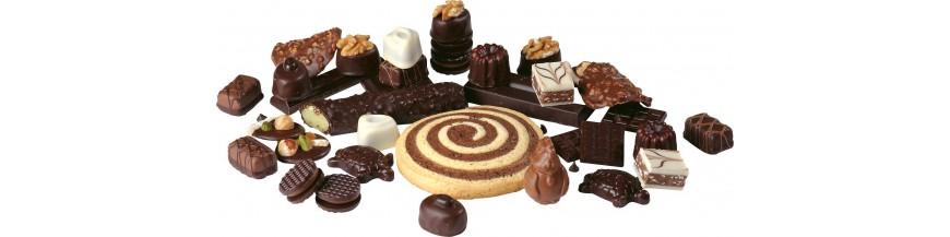 Шоколад и печенье