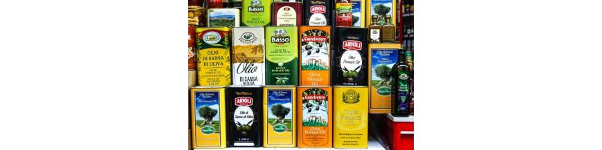 Масло оливковое в канистрах